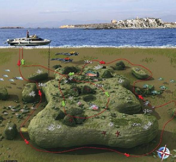 Tabarca Exterior Map